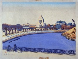 The National Diet from the Imperial Moat