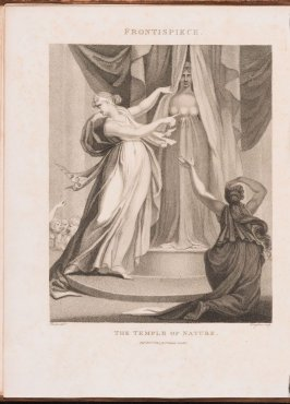 Frontispiece to the book, The Temple of Nature: or , the Origin of Society (London: J. Johnson, 1803)