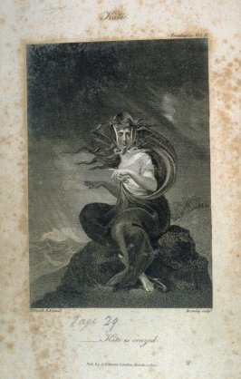 Kate, frontispiece in the book, Poems by William Cowper (London: J. Johnson , 1808), vol. 2