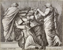 Lycurgus and Numa Pompilius Giving the Laws to the Romans, from the series Subjects from Roman History