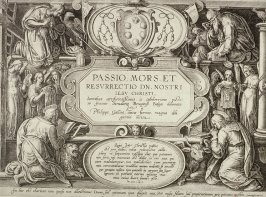 Title Page from Passio Mors et Resurrecto de Nostri Jesu Christi (The Passion of Christ)
