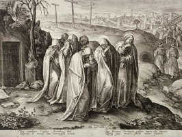 Holy Women Leaving the Sepulchre, no. 34 from The Passion of Christ
