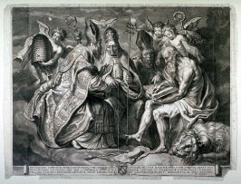 The Four Fathers of the Church Disputing
