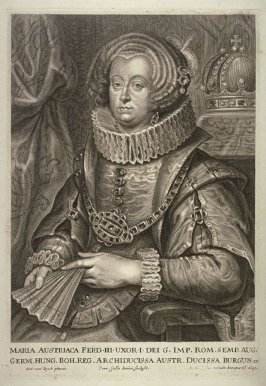 Maria Anna, Holy Roman Empress, from The Iconography