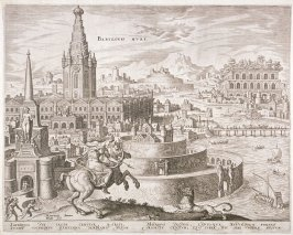 The City of Babylon with the grave of Semiramis