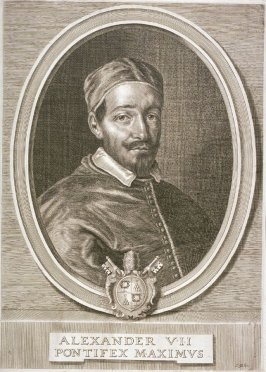 Portrait of Pope Alexander VII