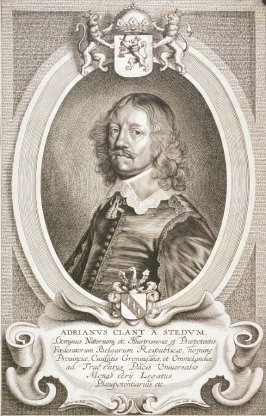 Portrait of Adrian Clant A Stedum