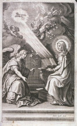 The Annunciation of St. Mary