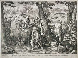 Woodcock Hunt, from the series Venationes Ferarum, Avium, Piscium