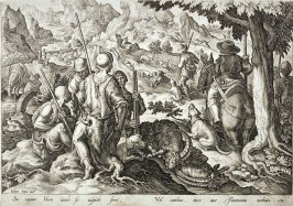 Mountain Goat Hunt, from the series Venationes Ferarum, Avium, Piscium