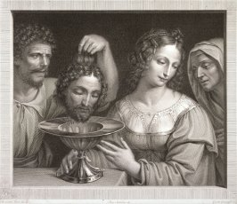 Herodias Receiving the Head of John the Baptist