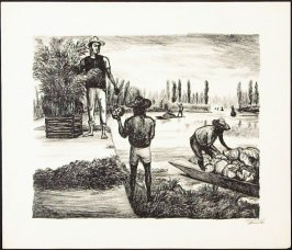 """Peasants of Tlahuac from """"Mexican People"""" portfolio"""