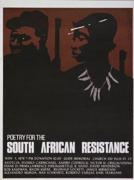 Poetry for the South African Resistance
