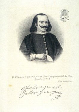 Francisco Fernandes de la Cueba, Duke of Alburquerque..1653