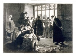 """""""The Massacre of St. Bartholomew""""-pages 458 & 459, from Harper's Weekly (3 June 1876)"""