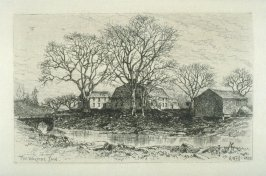 The Wayside Inn, plate 10 in the book, Choice Etchings (London: Alexander Strahan, 1887)