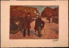 Untitled (Couple in a park)