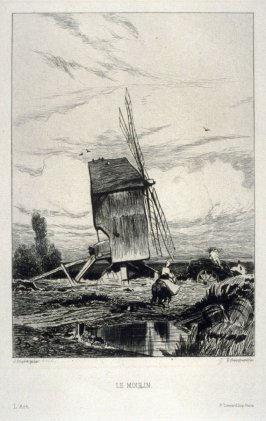 Le moulin, published in L'Art