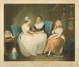 Plate 2: Good Advice form an Old Servant to the Young Ones, from the series 'Diligence and Dissipation'