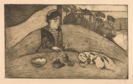 La femme aux figues (Woman with Figs), 1894, no. 5 of the album Germinal, 1899