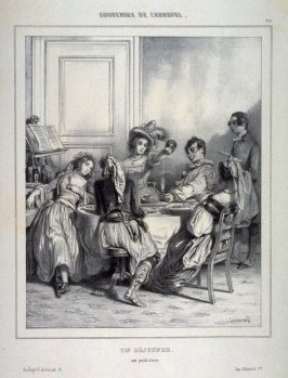 "Souvenirs du Carnaval : ""Un Dejeuner"": ""au petit jour"" (Lunch in the early morning), no. 6 from the series ""Souvenirs Du Carnaval"""