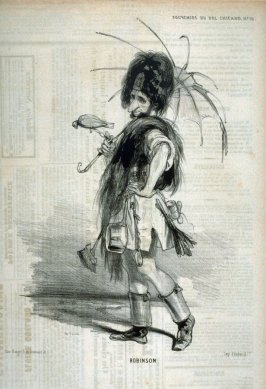 """""""Robinson""""; no. 18 from the series """"Souvenirs du Bal Chicard"""""""
