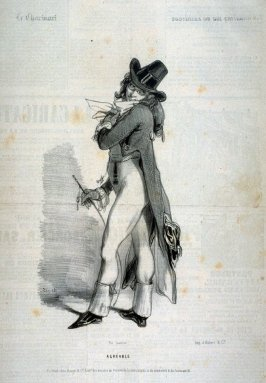 """""""Agréable""""; no. 11 from the series """"Souvenirs du Bal Chicard"""""""
