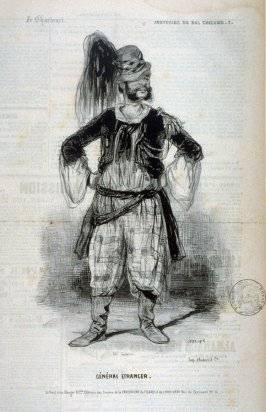 """Général Étranger""; no. 7 from the series ""Souvenirs du Bal Chicard"""