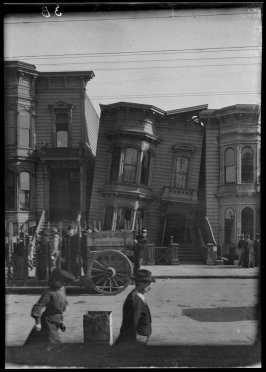 Untitled (Golden Gate and Gough Streets, San Francisco)