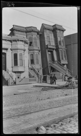 Untitled Howard Street (now South Van Ness)  between 17th and 18th Streets, San Francisco)