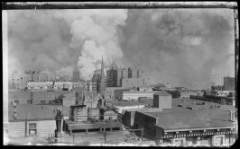 Untitled (View Downtown from Pleasanton Hotel, Sutter and Jones, San Francisco)