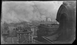 Untitled (View from Tobin House, California and Taylor Streets, San Francisco)