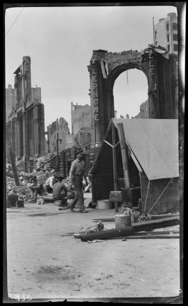 Untitled (Ruins of St. Ann's Building at Powell and Eddy)