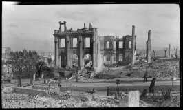 Untitled (Ruins of J. Zenon Posados's Mansion at 1825 Sacramento Street)