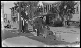 Untitled (Sacramento Street between Locust and Laurel Streets, San Francisco)
