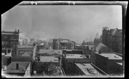 Untitled (View south from Sherwood mansion, California Street between Taylor and Jones Streets, San Francisco)
