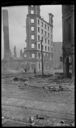 Untitled (Hearst Building, Market and Third Streets, San Francisco)