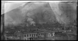 Untitled (View of the burning city from Broadway west of Taylor Street, San Francisco)
