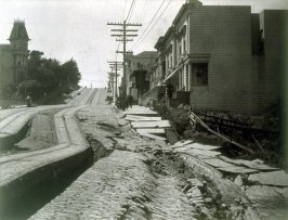 Untitled (Earthslip along Union Street west of Steiner)