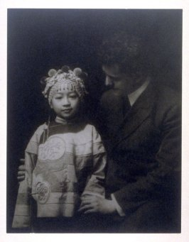 Arnold Genthe and Tea Rose (Minnie Tong) from the Chinatown Series