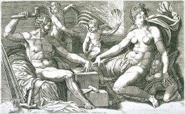 Venus and Vulcan at the Forge