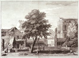 Plate 3 from the series Racolta di 12 paesi...dal Marco Ricci (Collection of Twelve Landscapes...by Marco Ricci)