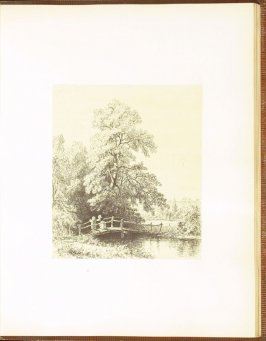 Spring, accompanied by verses by N. P. Willis, seventh plate in the book Autograph Etchings by American Artists (New York: W. A. Townsend & Company, 1859)