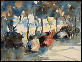 Untitled (Cows at Buckeye Creek)