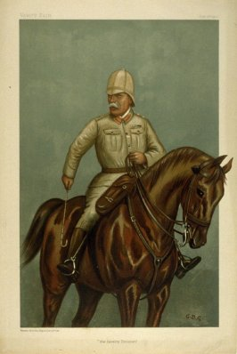 """the Cavalry Division"", from Vanity Fair, July 12, 1900"