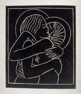 Untitled (embracing couple), Canto XI of The Passionate Pilgrim, on page 156 in the book, All the Love Poems of Shakespeare (New York: privately printed for Sylvan Press, 1947)