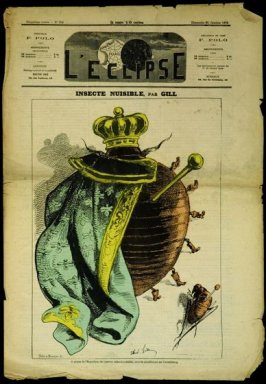 Insecte Nuisible (Harmful Insect), cover of L'Eclipse