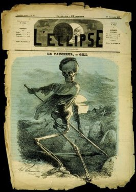Le Faucheur (The Reaper), cover of L'Eclipse