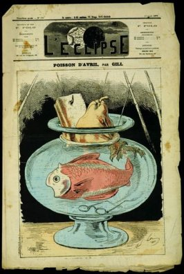 Poisson d'Avril (April Fish), cover of L'Eclipse