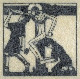 Jesus is Nailed to the Cross, pl.26: D. 96: